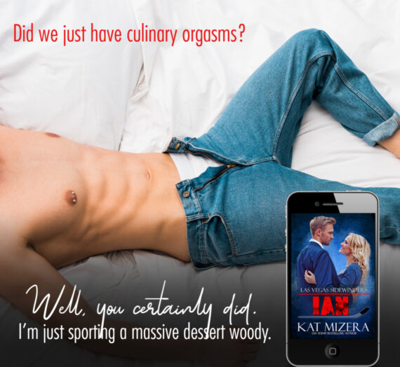 Out Today!  Kat Mizera's final installment of the Sidewinder series