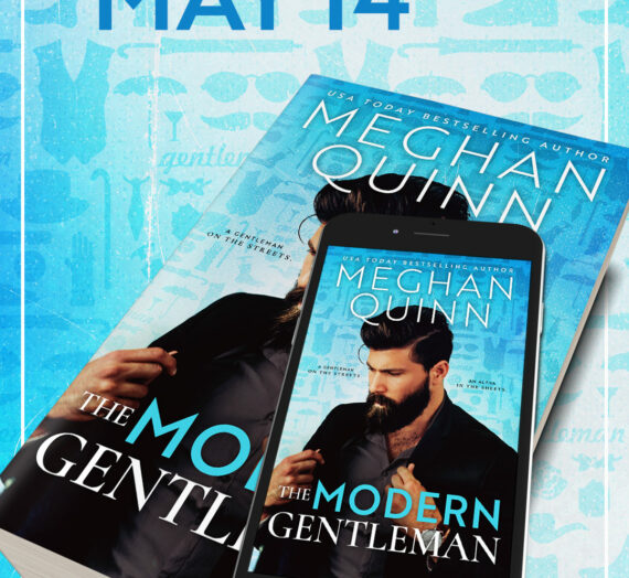 Cover Reveal: The Modern Gentleman