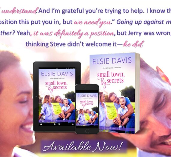 New Release  Small Town, Big Secrets out today!