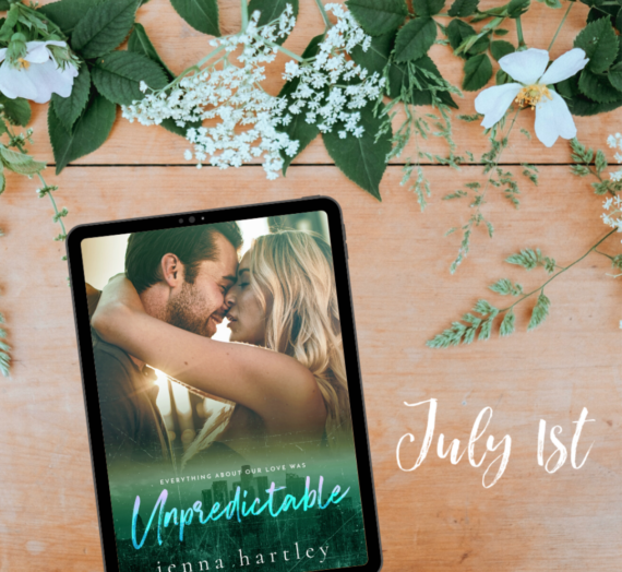 Unpredictable Cover Reveal