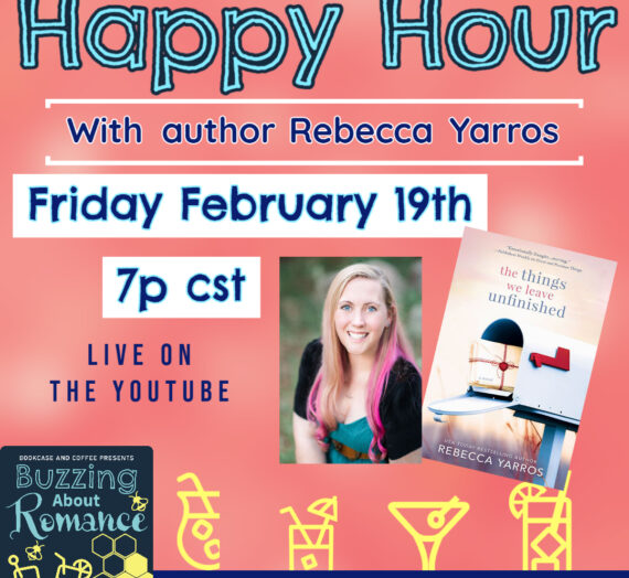 Buzzing about Happy Hour with Rebecca Yarros