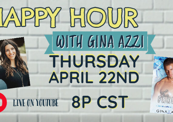 Happy Hour with author Gina Azzi