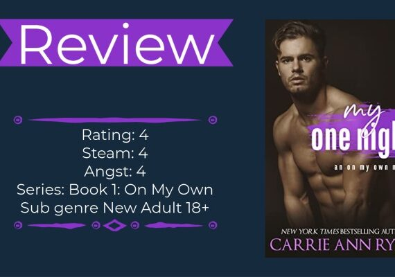 My One Night by Carrie Ann Ryan