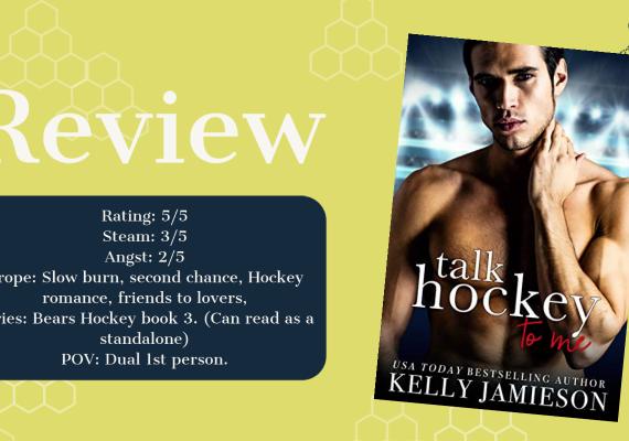 Review: Talk Hockey to Me by Kelly Jamieson