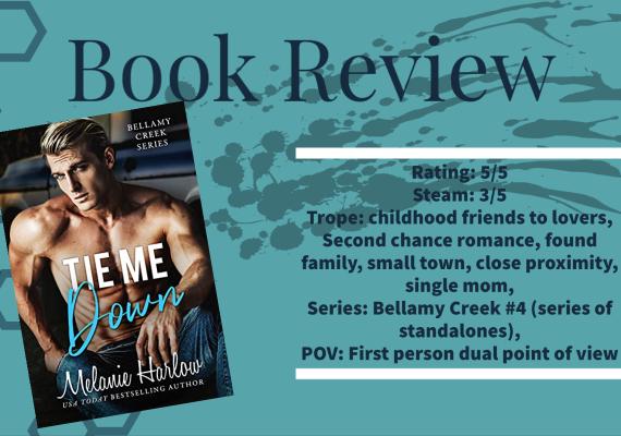 Review: Tie Me Down by Melanie Harlow