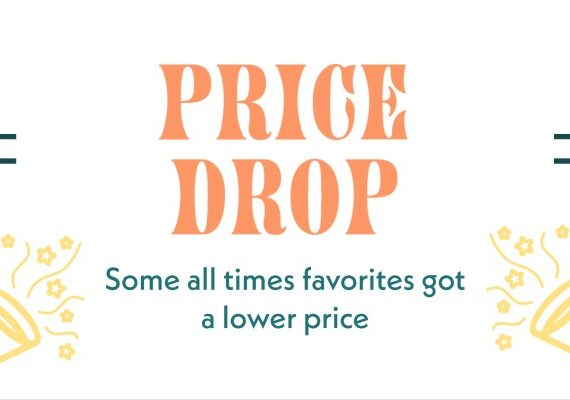 Price Drop on some favorite books