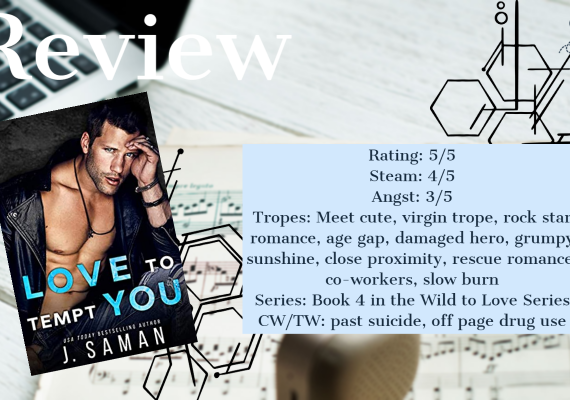 Review: Love to Tempt You by J Saman