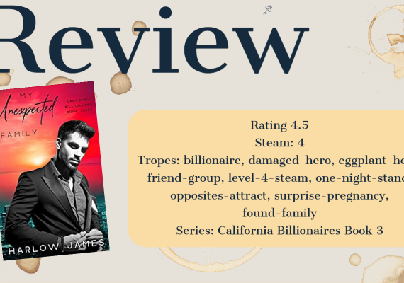 Review: My Unexpected Family by Harlow James