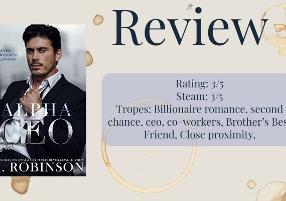 Review: Alpha CEO by M. Robinson