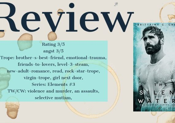 Review: The Silent Waters by Brittainy Cherry