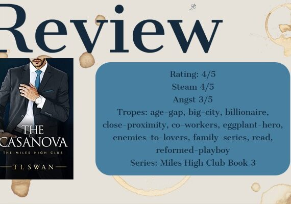 Review: The Casanova by TL Swan