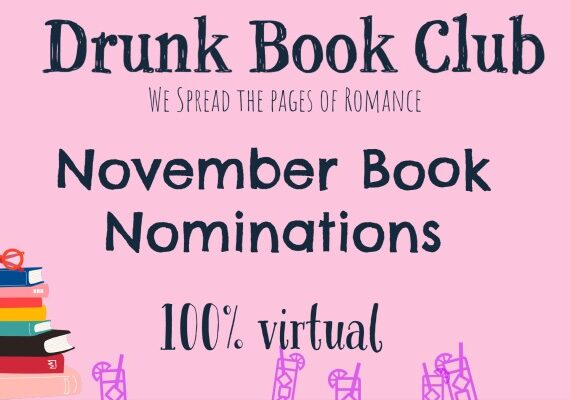 November Drunk Book Club Author and Nominations!