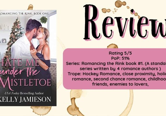 Review: Hate Me Under the Mistletoe by Kelly Jamieson